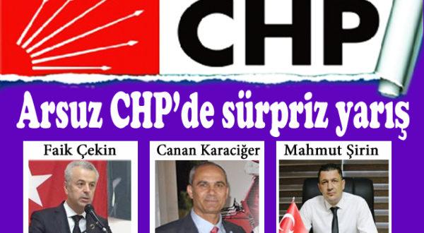 Arsuz CHP'de sürpriz yarış