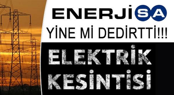 Elektrik kesintilerini takip edin!