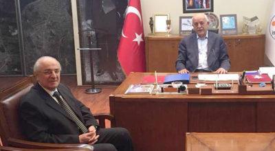 Başkan Seyfi Dingil'e nazik davet