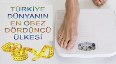 En obez dördüncü ülkeyiz