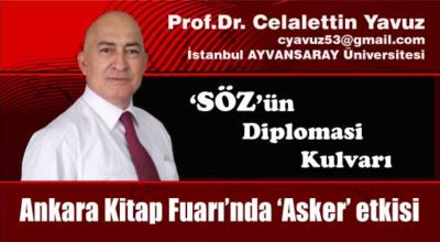 Ankara Kitap Fuarı'nda 'Asker' etkisi