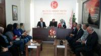 MHP'li kadınlar sendikacıları ağırladı