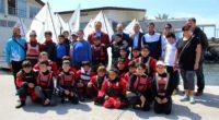 Yelkenciler, İskenderun'da rüzgara meydan okudu