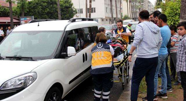 Ani fren zincirleme kazaya neden oldu: 4 Yaralı
