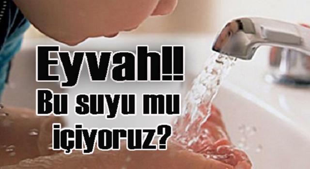 Eyvah!! Bu suyu mu içiyoruz?