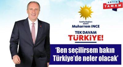 'MİLLET İÇİN GELİYORUZ' SEÇİM BİLDİRGESİ