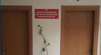 İlçe Nüfus Müdürlüğü Karaağaç'ta şeflik açtı