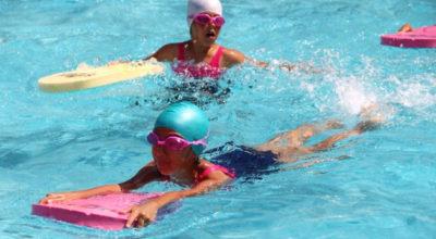 SODES ile yüzüyorlar, sporu çok seviyorlar!