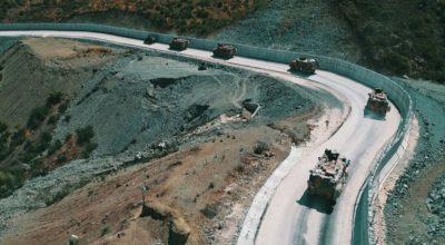 İdlib sınırına askeri sevkiyat