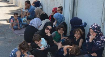 Suriye sınırında göçmen avı!