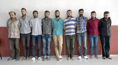 Suriye'den getirilen 9 terörist adliyeye sevkedildi
