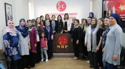 MHP'li kadınlar önemli bir mesaj verdi