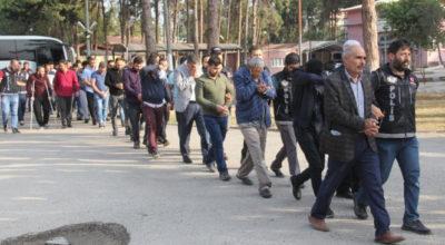 Zehir çetesine dev operasyon: 23 gözaltı