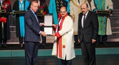 MKÜ'ye Üstün Başarı Ödülü