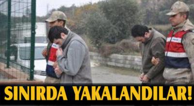 DEAŞ'lı kardeşler sınırda yakalandı