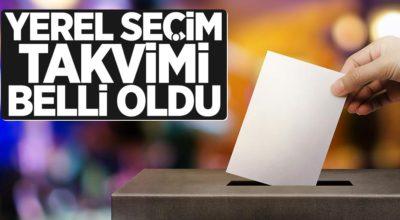 Seçim süreci 1 Ocak'ta başlıyor
