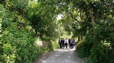 2 km'lik mitolojik yol turizme kazandırılacak