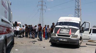 Yine tarım işçileri, yine kaza: 6 yaralı