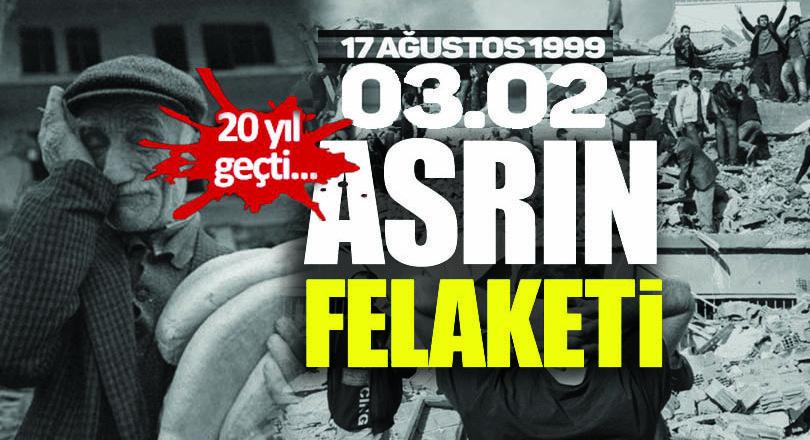 Marmara Depremi'nin 20'nci yılı
