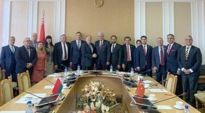 Türkiye-Belarus ilişkisi üst düzeye taşındı