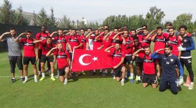 Mehmetçiğe Hatay'dan selam var!