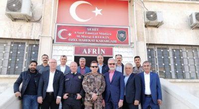 İTSO Heyeti'nden Afrin'e çıkarma