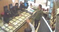 5 yaman hırsızın altın keyfi kısa sürdü