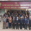 Başkan Tosyalı, MKÜ öğrencileriyle beyin fırtınası yaptı