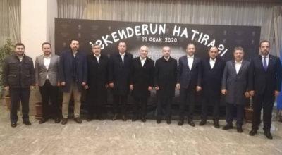 Ak Parti Genel Başkan Yardımcısı İskenderun'da