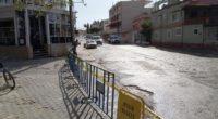 Arsuz ilçe merkezi araç trafiğine kapatıldı