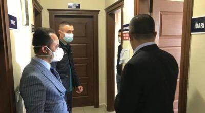 Arsuz'da koronavirüs önlemli Polis Haftası kutlaması