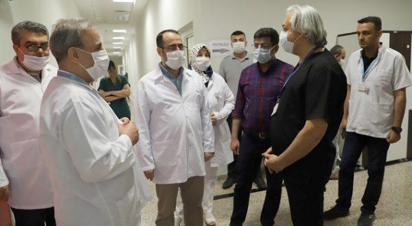 Pandemi hastanesi denetim altında