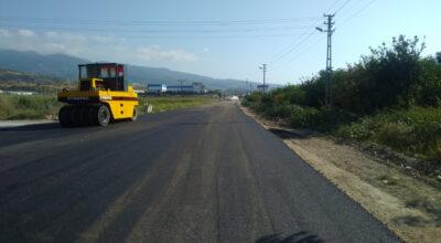 Nardüzü Şehit Ali Türkmen Caddesi'ne beton asfalt