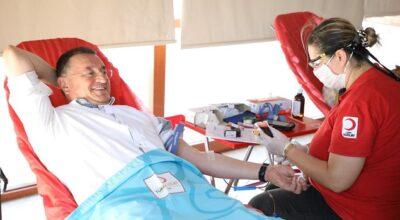 HBB, kan bağışına öncülük etti