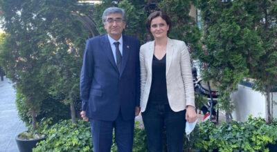 CHP Hatay'dan Canan Kaftancıoğlu'na destek ziyareti