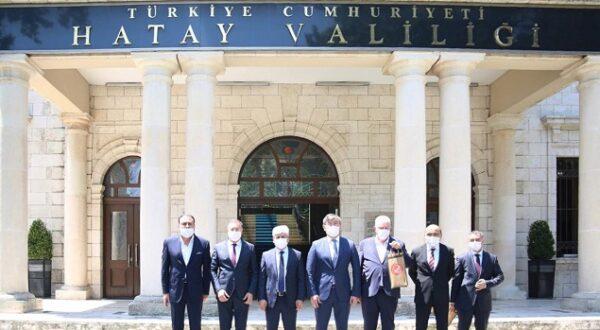 Türkiye-Kazakistan dostluğuna Hatay'dan katkı