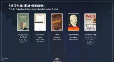 Rektör Dereli'den 5 kitap tavsiyesi!