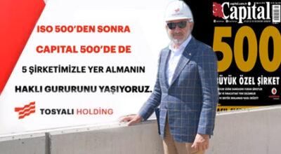 TOSYALI Holding'in şirketleri 5'i bir yerde gibi!