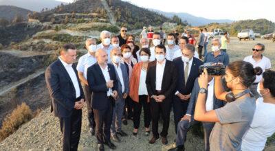 CHP Heyeti 'Doğa' için Hatay'da