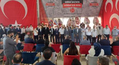 MHP Hatay, yeniden 'Murat Adal' dedi