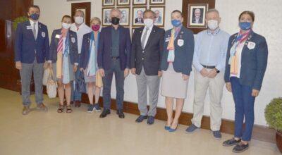Rotary Guvernörü İskenderun'da