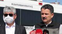 Bakan Pakdemirli, Arsuz'da ormanı yakan alçağı kınadı