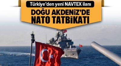 Doğu Akdeniz'de NATO Tatbikatı!