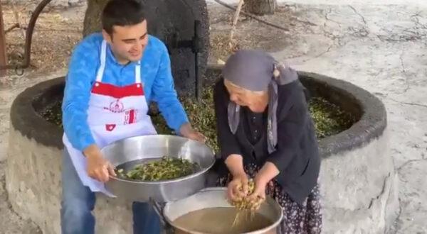 CNZ Burak farkıyla Altınözü Zeytini'nin yağa eğlenceli dönüşümü!