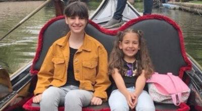 'Şirin' kız kardeşlerin mutlulukları fotoğraflarda kaldı