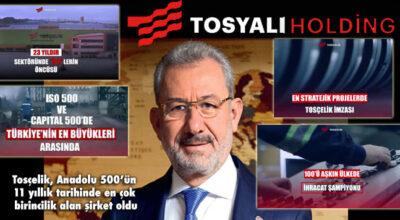 Tosyalı Holding; rekor kırma rekortmeni