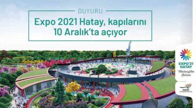 Hatay, 2021 yılını EXPO ile uğurlayacak!