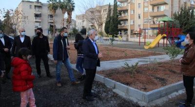 Mustafa Kemal Mahallesi'ne çok amaçlı park