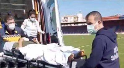Ambulans uçak, yaralı bahriyeli için İskenderun'dan havalandı