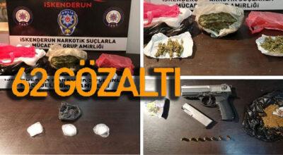 İskenderun Narkotim'i uyuşturucuya savaş açtı!
